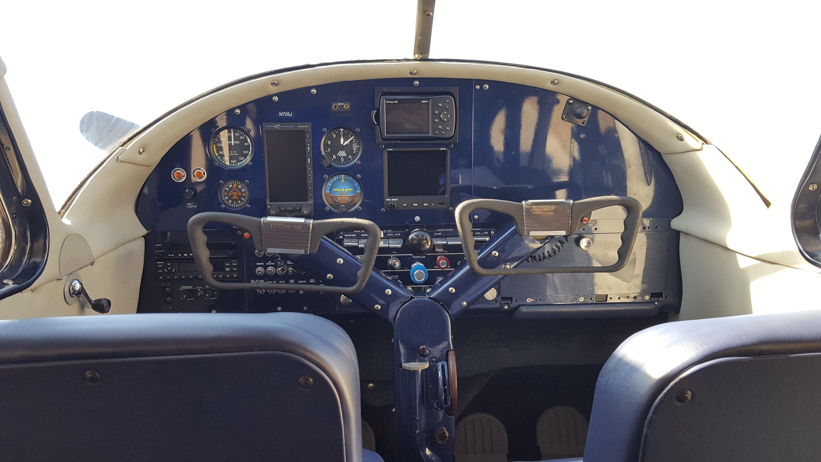1951 Cessna 195 Recent Ground Up Restoration Spirit In