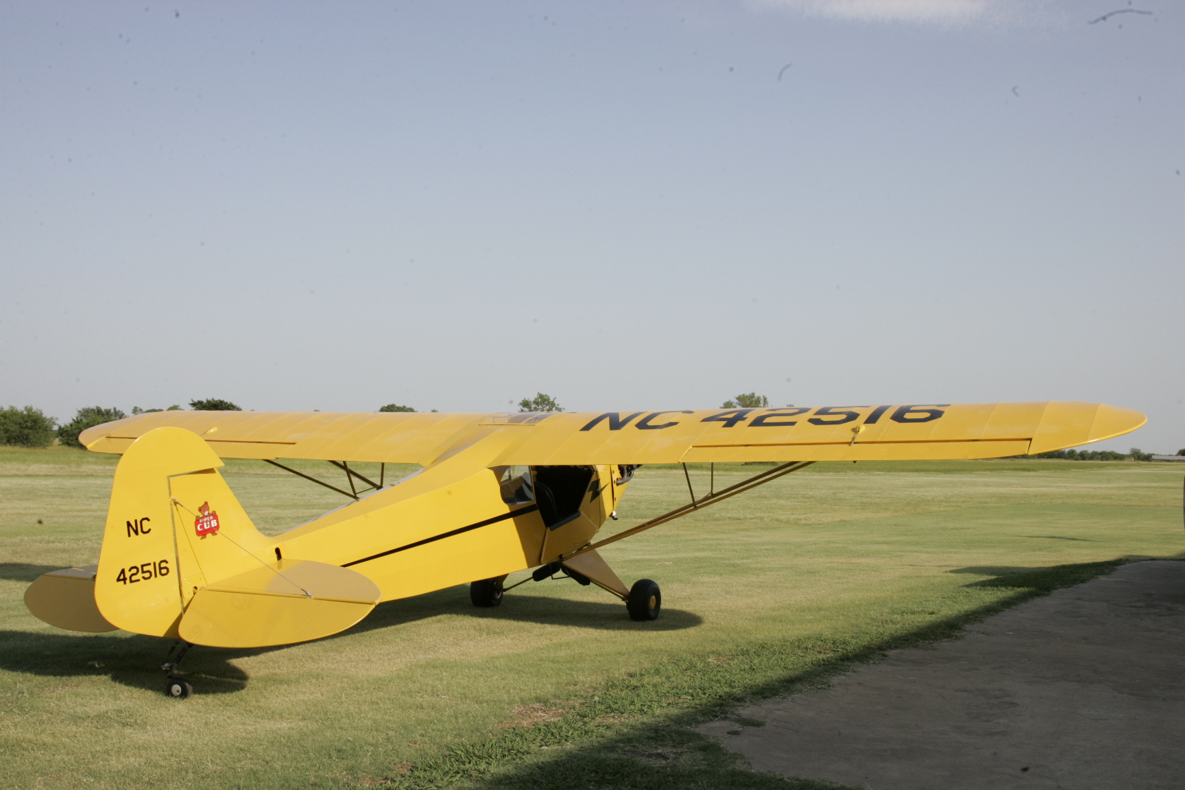 1945 Piper J3 Cub  Mint condition  - Spirit In The Sky