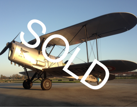 Stampe SV4C SOLD - restored in 2013 by RAR
