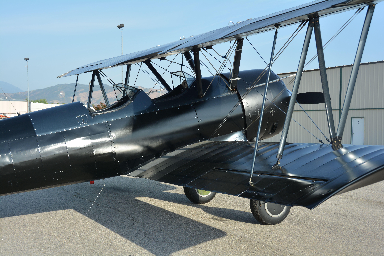 1941 Boeing Stearman for sale - P&W R985  Custom - Spirit In The Sky