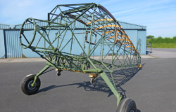 Stinson SR aircraft restoration project
