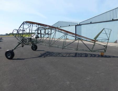 Stinson SR aircraft restoration project